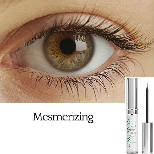 1b6fcb83f3a Organys Lash & Brow Booster Serum Gives You Longer Fuller Thicker Looking  Eyelashes & Eyebrows 100