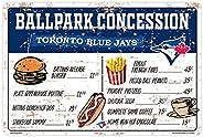 Toronto Blue Jays 16x23 PVC Arena Concession Sign