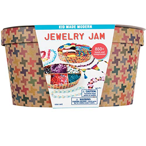 (Kid Made Modern Jewelry Jam Craft Kit - Ultimate Jewelry Making Supplies for Kids)