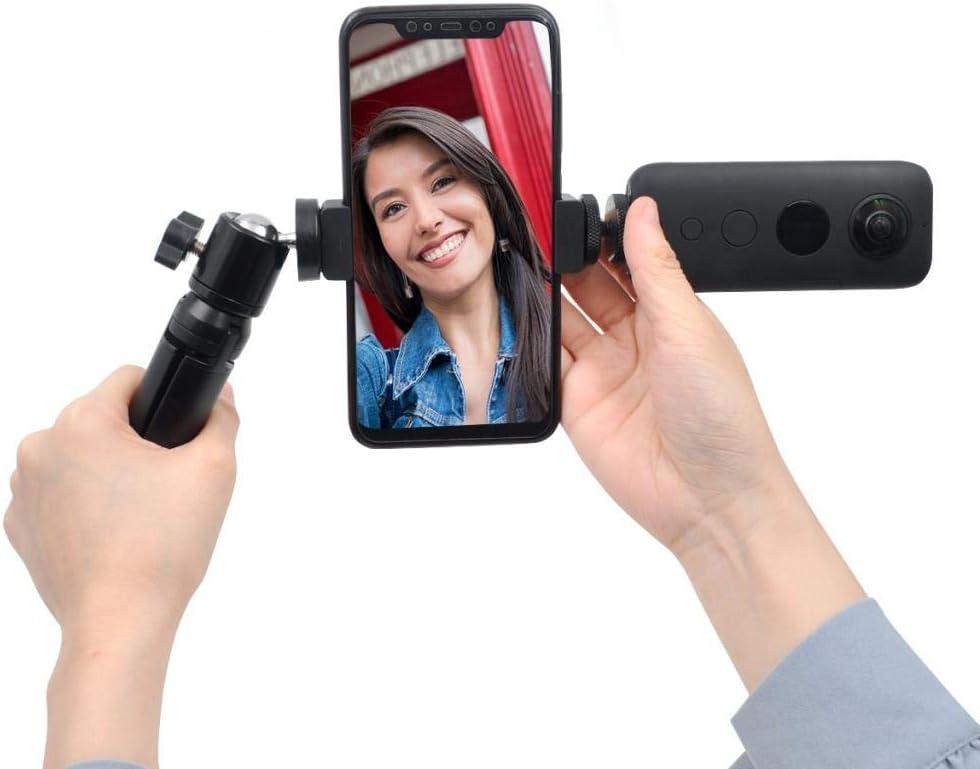 Smartphone Fixing Clamp Smartphone Gimbal for Insta 360 ONE X//EVO LoveinDIY Handheld Gimbal Stabilizer