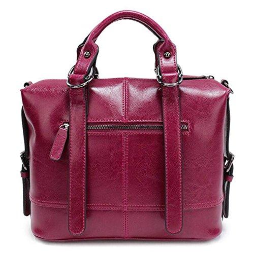Cire À Épaule Diagonal Fashion Sacs unis Modèles États Purple Main Package Les Et De Féminins Europe L'huile En Cuir x4g7dq4Z