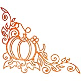 Cheery Lynn Designs B138 Lacey Pumpkin Corner Flourish