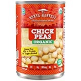 Dunya Harvest Organic Chick Peas, 13.5 Fluid Ounce (Pack of 12)