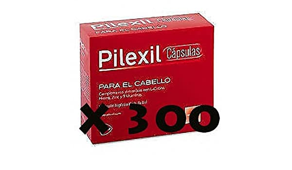 Amazon.com : PILEXIL 300 CAP CAPSULAS ANTICAIDA lab. Lacer NUEVO EN Hair Everyday : Beauty