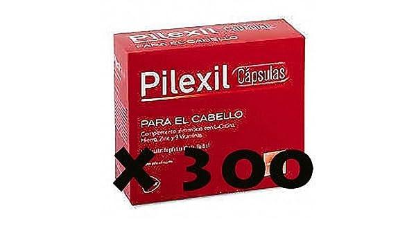 Amazon.com : PILEXIL 300 CAP CAPSULAS ANTICAIDA lab. Lacer NUEVO EN Hair Everyday : Beauty