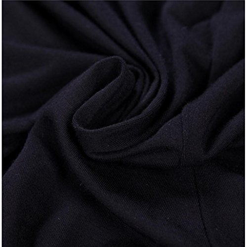 Liang Rou Women's Crewneck Stretch Top & Bottom Thin Underwear Set Black M Medium / 8-10 1 Set Black by Liang Rou (Image #5)