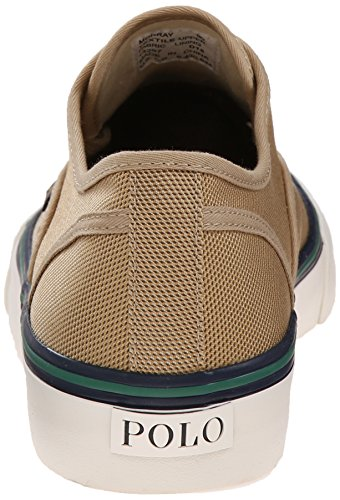 Polo Ralph Lauren Manar Morray Nylon Mode Sneaker Khaki