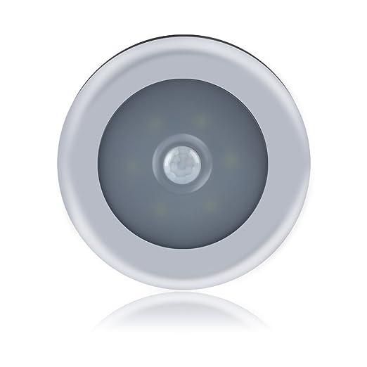Ebilun Luz LED con sensor de movimiento para armario, armario, dormitorio, lámpara de