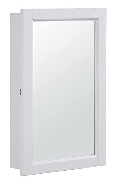 Amazon.com: Design House 590505 16x26 Concord Ready-To-emble ... on bathroom open shower design, bathroom wall mirror design, double bathroom vanity cabinets design,