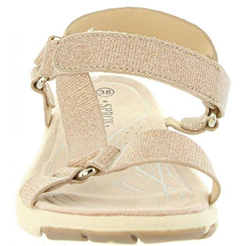 Sandales Pour Urban Femme b7200 Nude 336631 RZPgRw