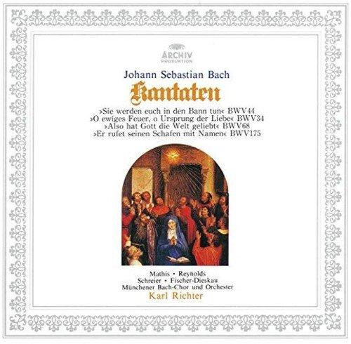 CD : RICHTER,KARL - Bach: Cantatas Bwv 44/ 34/ 68/ 175 (Japan - Import)