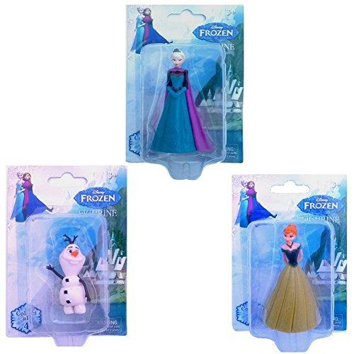 Disney Frozen Elsa Anna Olaf Figurine Playsets (Elsa Anna Olaf)