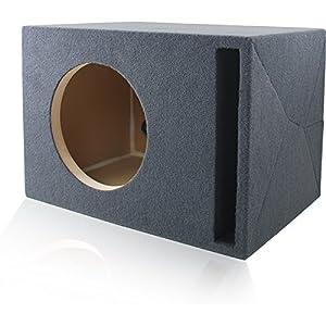 "Ported MDF Subwoofer Enclosure for Single 12"" JL Audio W7 (12W7, 12W7AE) Sub Woofer"