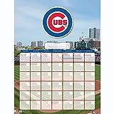 NBL Chicago Cubs Jumbo Dry Erase Sports Calendar