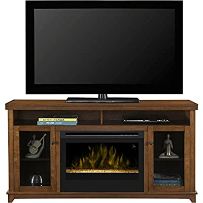 Dimplex Dupont Electric Fireplace & Entertainment Center - Glass Embers (GDS25G-1491KN)