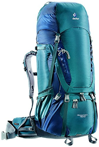 Deuter Aircontact 75+10 Hiking Backpack (arctic/navy)