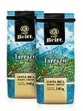 Cafe Britt Tarrazu Montecielo Ground Coffee, 12-Ounce Bags (Pack...