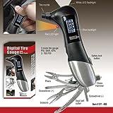 Digital Tire Gauge LCD Tyre Car Air + 6 Multi Tools Screwdriver Pliers Hammer !!