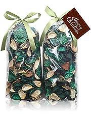 Qingbei Rina Potpourri Bag Dried Flowers Scented Fragrance Sachet Petal Bowl and Vase Filler Home Decor 2 Bags Total Volume 83 Fluid-Oz