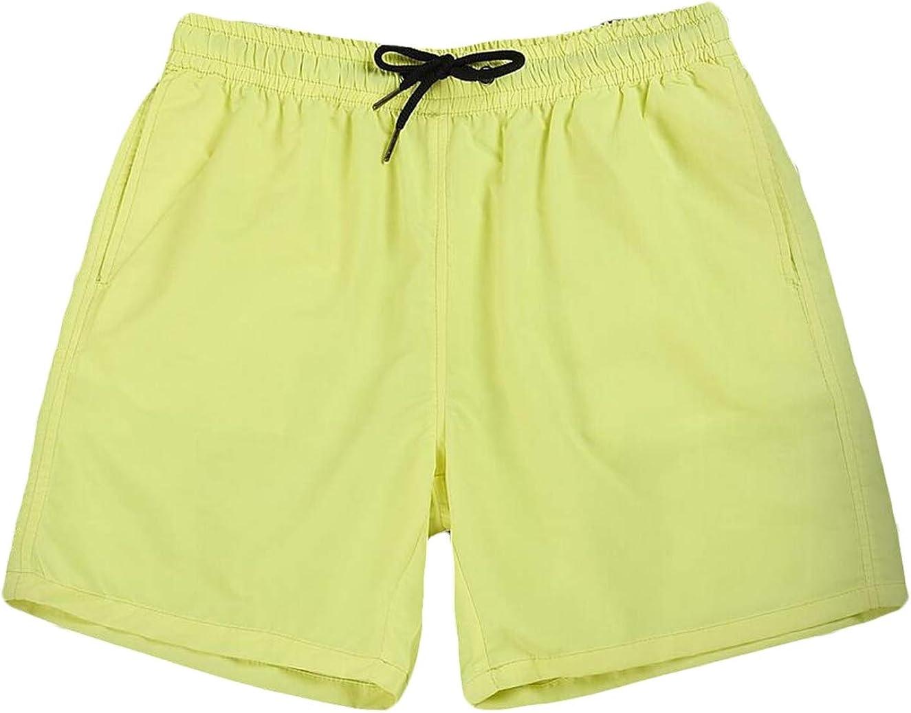 xiaohuoban Men Pocket Beach Work Casual Fashion Short Trousers Shorts Pants