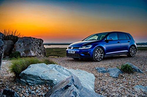 Volkswagen Golf R 5-door Performance Pack UK Spec  Car Print