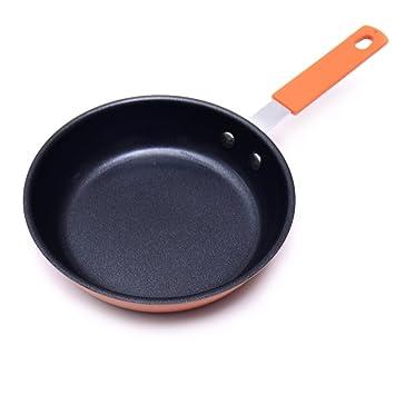 El LE freidoras/sartenes antiadherentes/ollas/utensilios de cocina multifuncionales/cerámica con recubrimiento antiadherente/antiadherente 6.3/pulgadas/16 ...