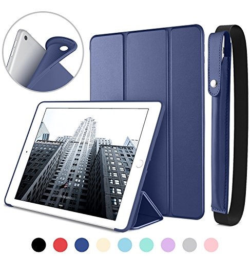 DTTO New iPad 9.7 Inch 2018/2017 Case with Apple Pencil Hold