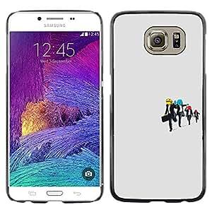 Stuss Case / Funda Carcasa protectora - Reservoir Dog Smiley - Funny - Samsung Galaxy S6