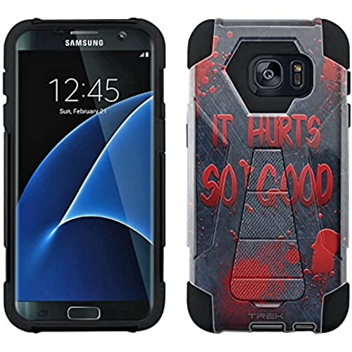 Samsung Galaxy S7 Edge Hybrid Case It Hurts Soo Good 2 Piece Style Silicone Case Cover with Stand for Samsung Sales