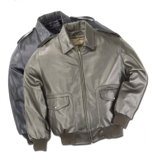 Air A2 Flight Force - Men's Air Force A-2 Flight Leather Bomber Jacket