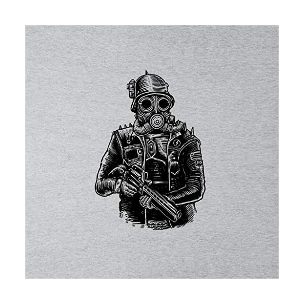 Steampunk Soldier Kid's T-Shirt 4