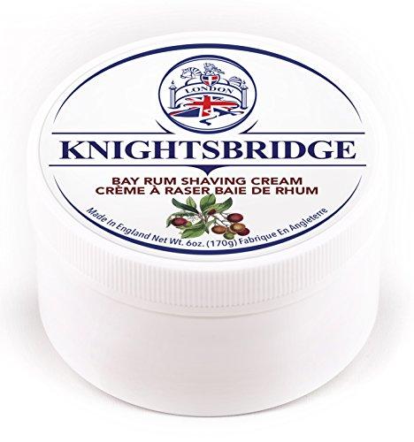- Knightsbridge - Bay Rum Shaving Cream 170g