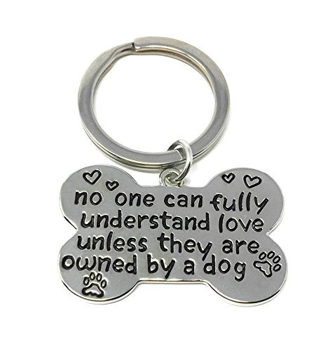 Art Attack Silvertone Owned by A Dog BFF Best Friends Animal Lover K9 Tag Collar Partners in Crime Bag Charm Pendant Keychain