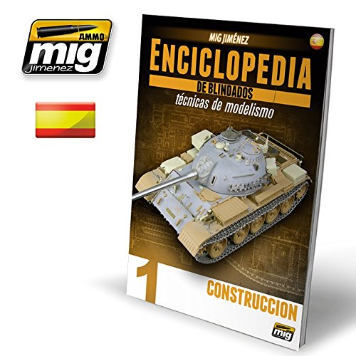 Amazon.com: ENCYCLOPEDIA OF ARMOUR MODELLING TECHNIQUES VOL.1 CONSTRUCCION Castellano #6160: Toys & Games