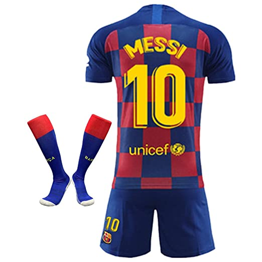 hot sale online 9f526 5b8f7 Amazon.com: #10 Messi Jersey FC Barcelona 2019-2020 Home ...