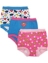 Toddler Girls' Justice League 3 Pack Training Pant
