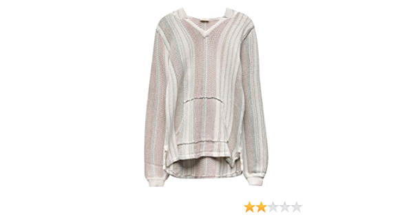 ONEILL Womens Heated Stipe Pullover Sweater