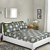 Printed Bed Sheet Set, King - Green - Best Reviews Guide