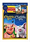 Charlotte's Web 2 Movie Collection + Charlotte's Web Book (DVD + Book Gift Set)