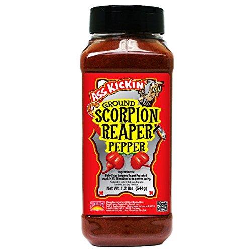 Ass Kickin Pure Ground Scorpion Reaper Pepper - 1.2 lbs by ASS KICKIN'