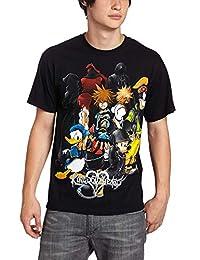 Disney - Playera para Hombre, diseño de Mickey y Donald Duck y Kingdom Hearts