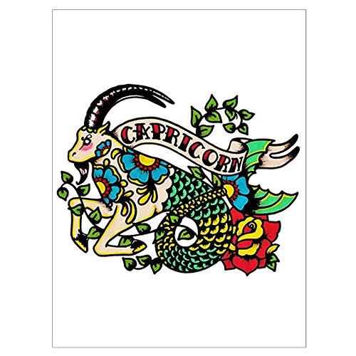 Signo del zodiaco Tatuajes de animales: Amazon.es: Belleza