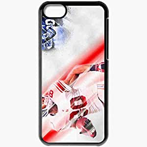 Personalized iPhone 5C Cell phone Case/Cover Skin 14374 victor cruz by jay hood d4m64ua Black