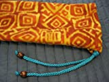 Native American Flute Bag - Fleece - protect your Flute - handmade