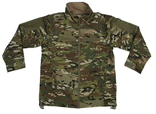 US Military Genuine Issue Massif LWOL Fire-Retardant Jacket, Multicam OCP (Medium Long) by Massif Mountain Gear