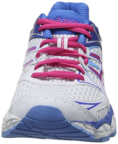 correr De powder Sintético White 120 Blue Pink Blanco 6 Gel pulse Asics hot white Mujer Entrenamiento wqxOIXgnY