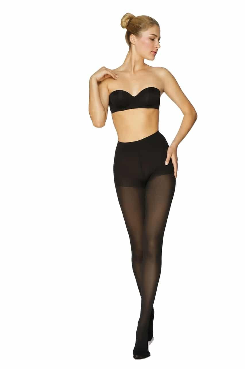BeFit24 医療用着圧タイツ クラス 1 (18-21 mmHg) 男性女性用 ーあらゆるラ イフスタイルのニーズに対応ー ヨーロッパ製 Large Black B00MCOE4WM