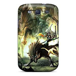 Tpu Anne Marie Harrison Shockproof Scratcheproof The Legend Of Zelda Hard Case Cover For Galaxy S3