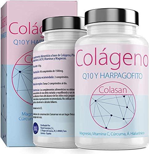 Colágeno Con Magnesio  Vitamina C Ácido