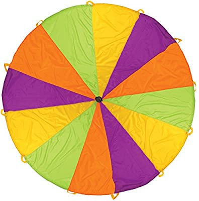 Pacific Play Tents Kids Playchute II 10 Foot Parachute for Indoor / Outdoor Fun | Computers